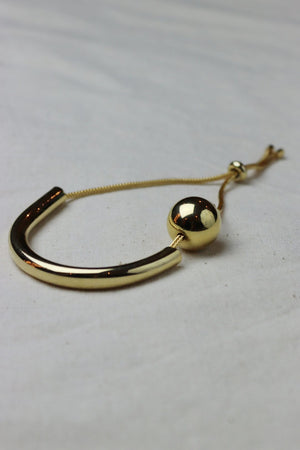 WANTS Gold Tipping Point Bracelet