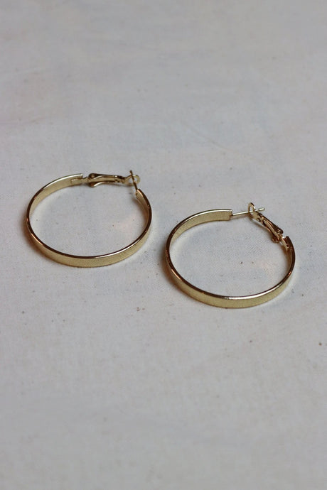 WANTS Gold Hoops