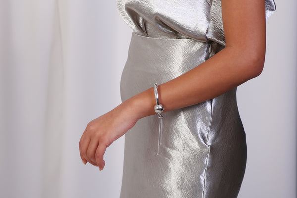 Silver Tipping Point Bracelet