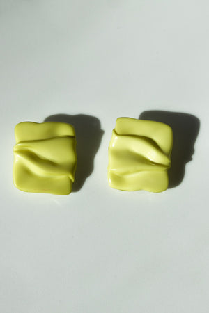 Lime Silky Studs
