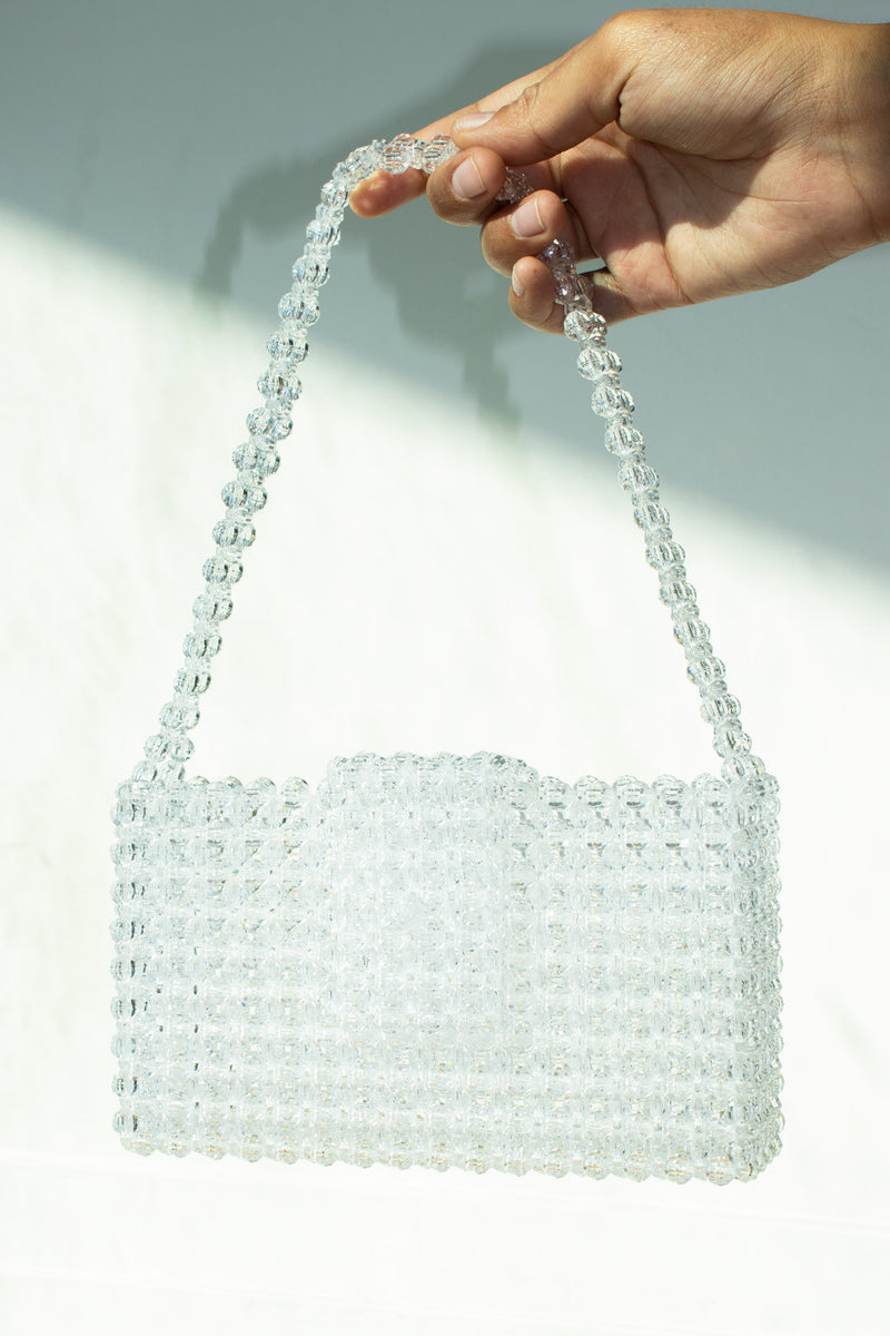 Eren White Dahlia Bag