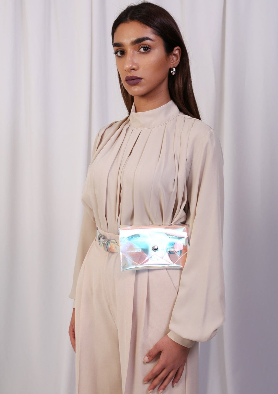 Holographic Pocket Belt