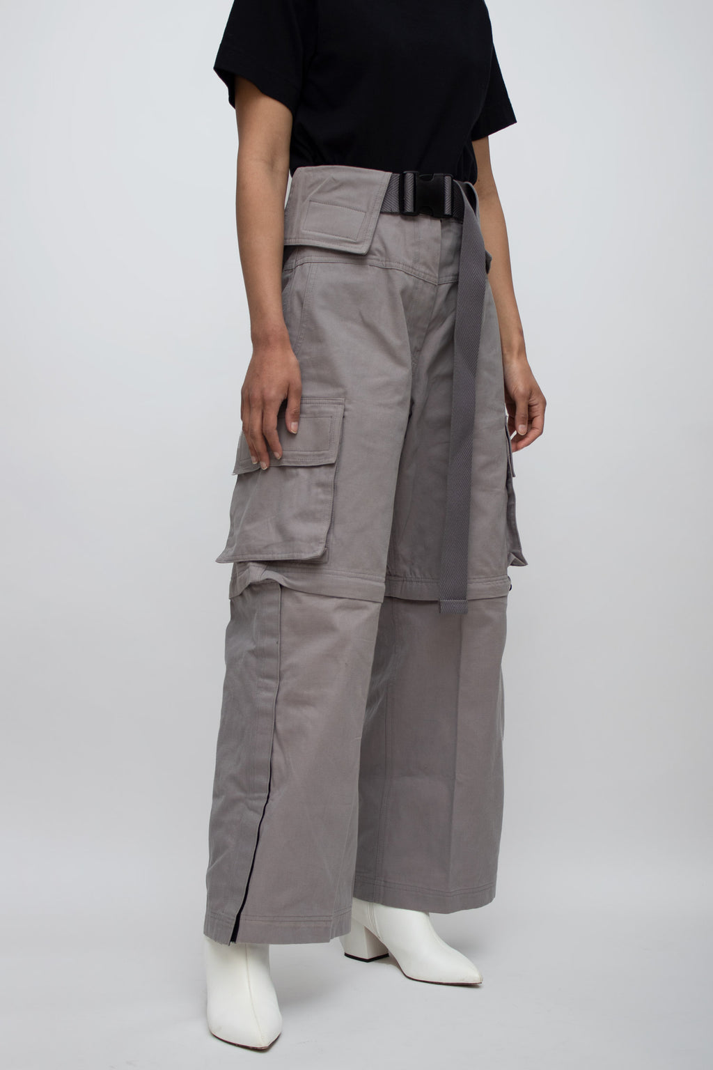 Smoke Escargo High Waisted Pants
