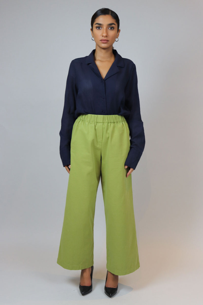 WANTS Green High Waisted Pants