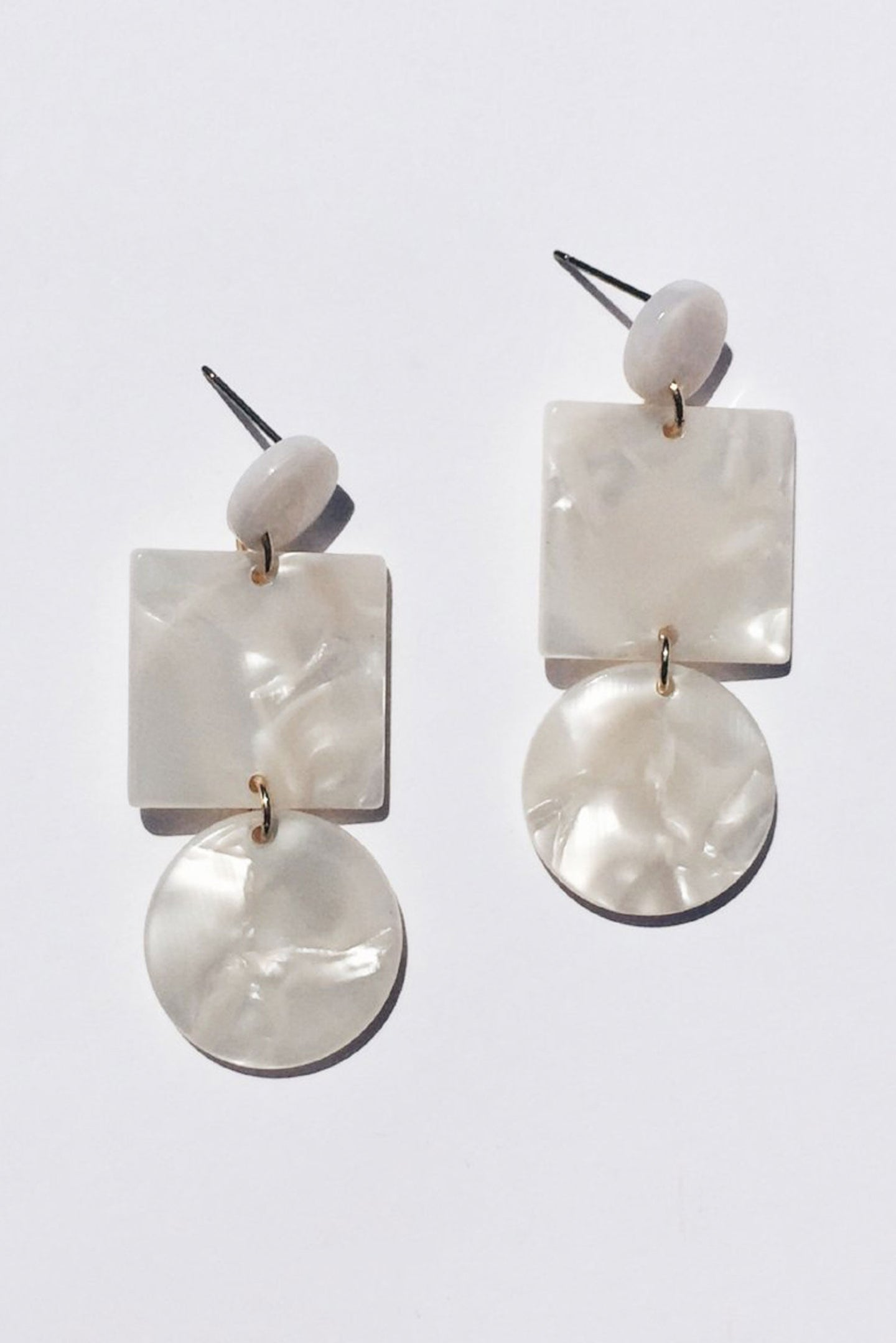 Ivory Totem Earrings