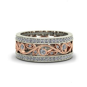 The Two Toned 925 Flower-Magic Ring
