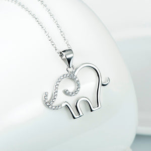 Elephant Necklace Lovely