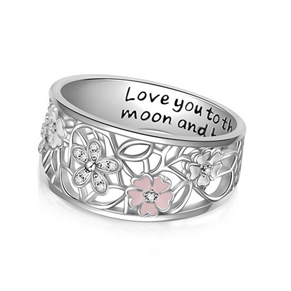 The Cherry Blossom Love Statement Ring