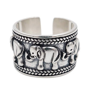 Vintage Antique Elephant Ring
