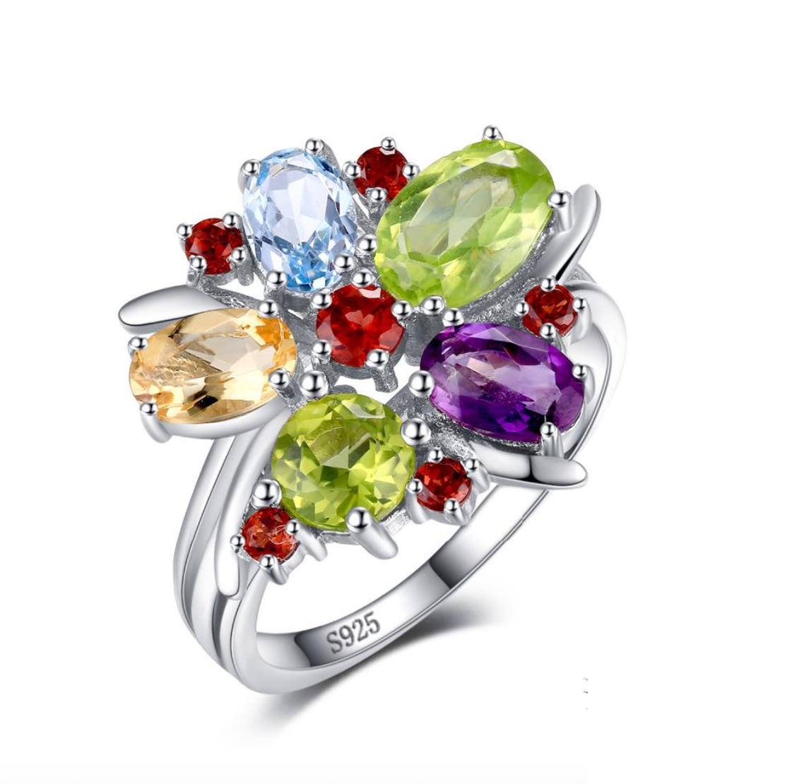 Flower Multicolor Ring