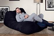 Puff Chaise-longue, Doble