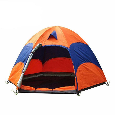 Two-Level Hexagonal 5-8 People Tent