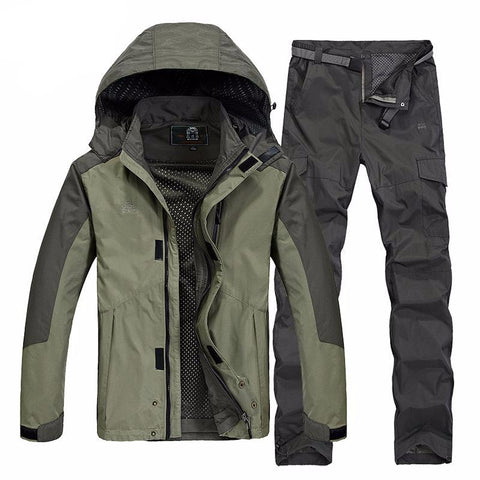Waterproof Santos Camping Windbreaker Set