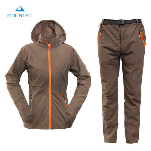 Waterproof Hiking Windbreaker Suit