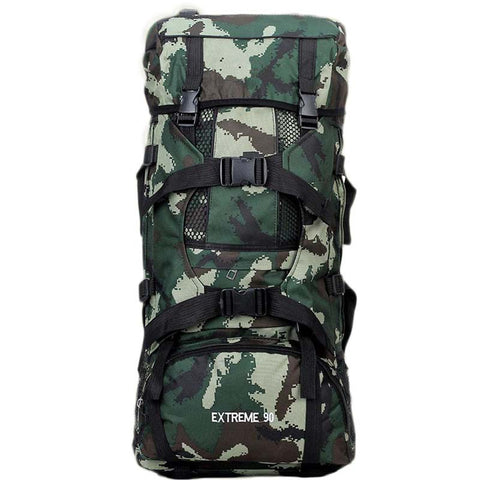 90L Army Military Multifunction Backpack