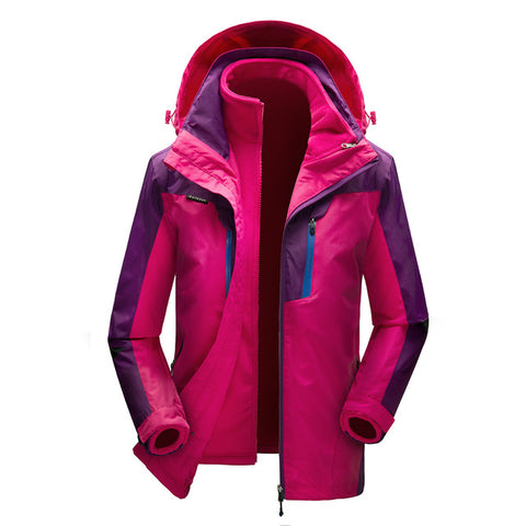 Waterproof 3 in 1 Windproof Coat