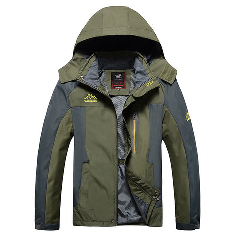 Waterproof Wales Hiking Windbreaker