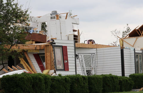 Images From Dayton and Trotwood's Tornado Event