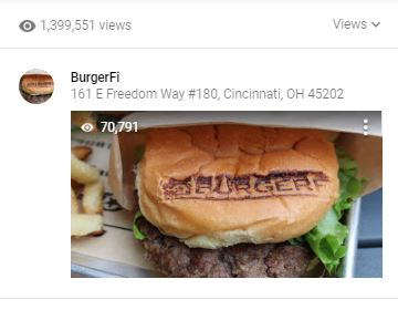 BurgerFi Greg Reese Burger Google Local Guide