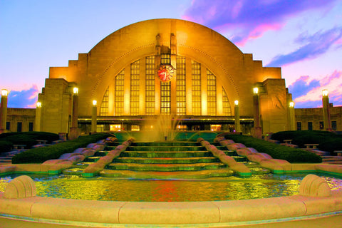 Union Terminal in Cincinnati, Ohio