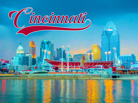 Cincinnati's Colorful Skyline