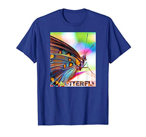 Colorful Butterfly T-Shirt by VIP