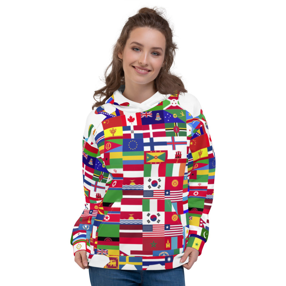 Staying @ Home Worldwide Hoodie