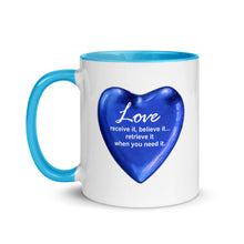 Love... Mug with Color Inside