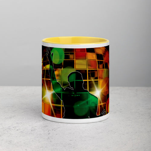 Staying @ Home Dance Mug with Color Inside