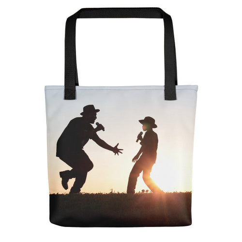 Father and Son - The Reason Why We Sing! Tote bag - Original Photography