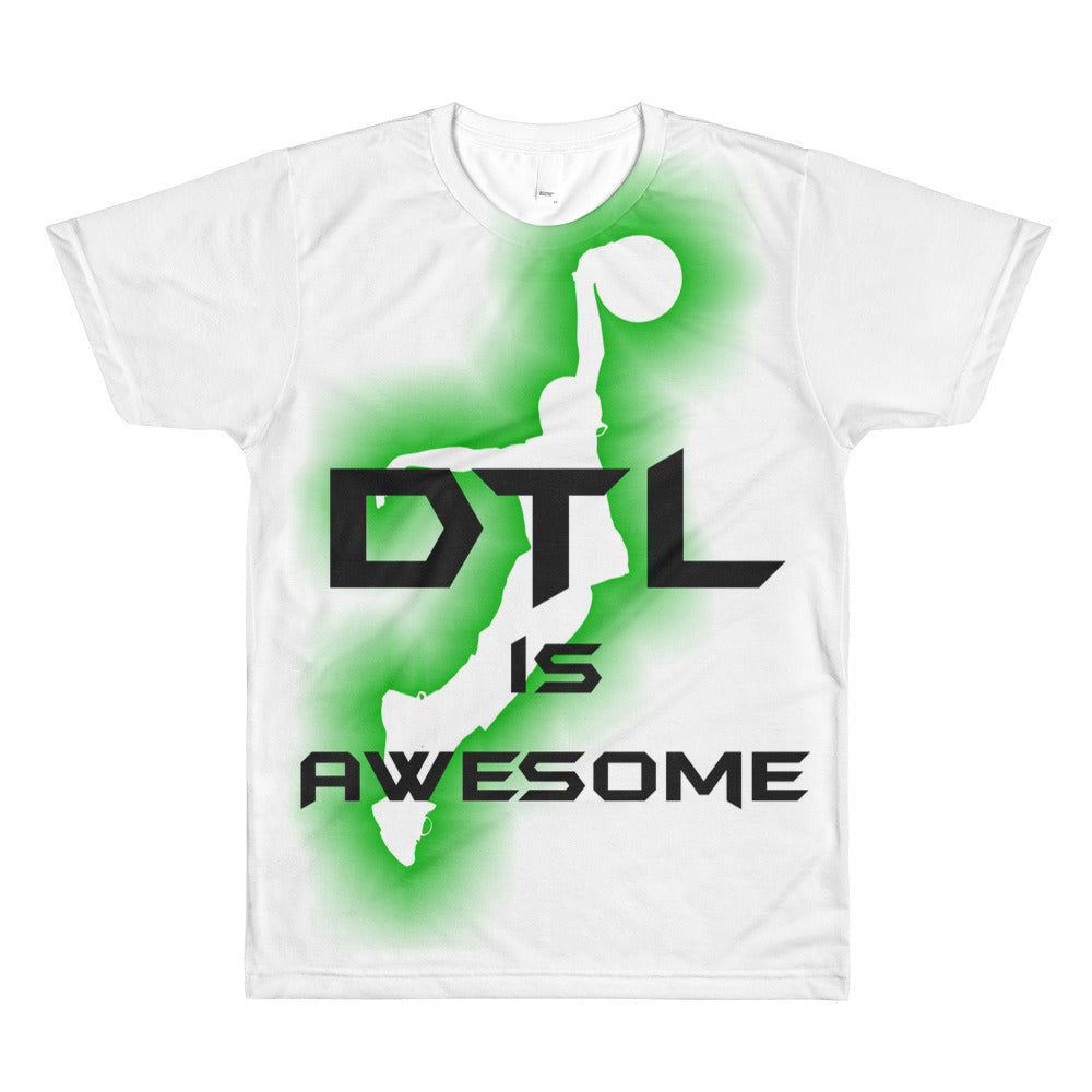 DTL is 'Awesome Slam 2' All-over youth sublimation T-shirt