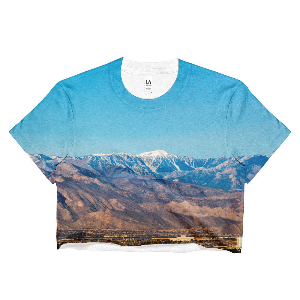 Mountain Majesties Ladies Crop Top