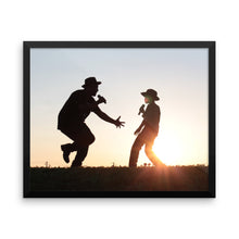Father and Son - This Is Why We Sing! Framed poster - Original Photography