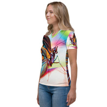 Colorful Butterfly Women's V-neck