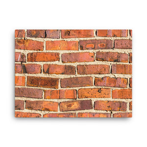 The Brick Wall on Canvas - Original VIP Photography