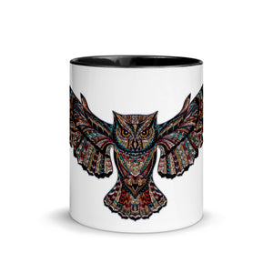 Deneen's Owl Mug with Color Inside
