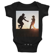 Father and Son - This Is Why We Sing!  Infant Bodysuit - Original Photography