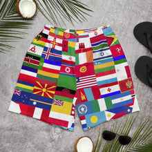 Staying @ Home Worldwide Men's Athletic Long Shorts