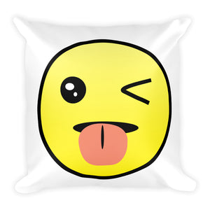 'Awesomojee' Square Pillow