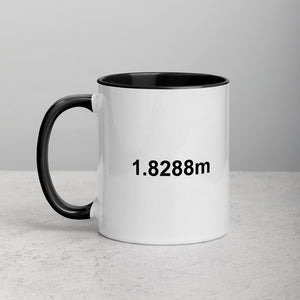 1.8288 meters Mug with Color Inside