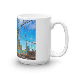 Go Brooklyn VIP Coffee Mug with Original Photography