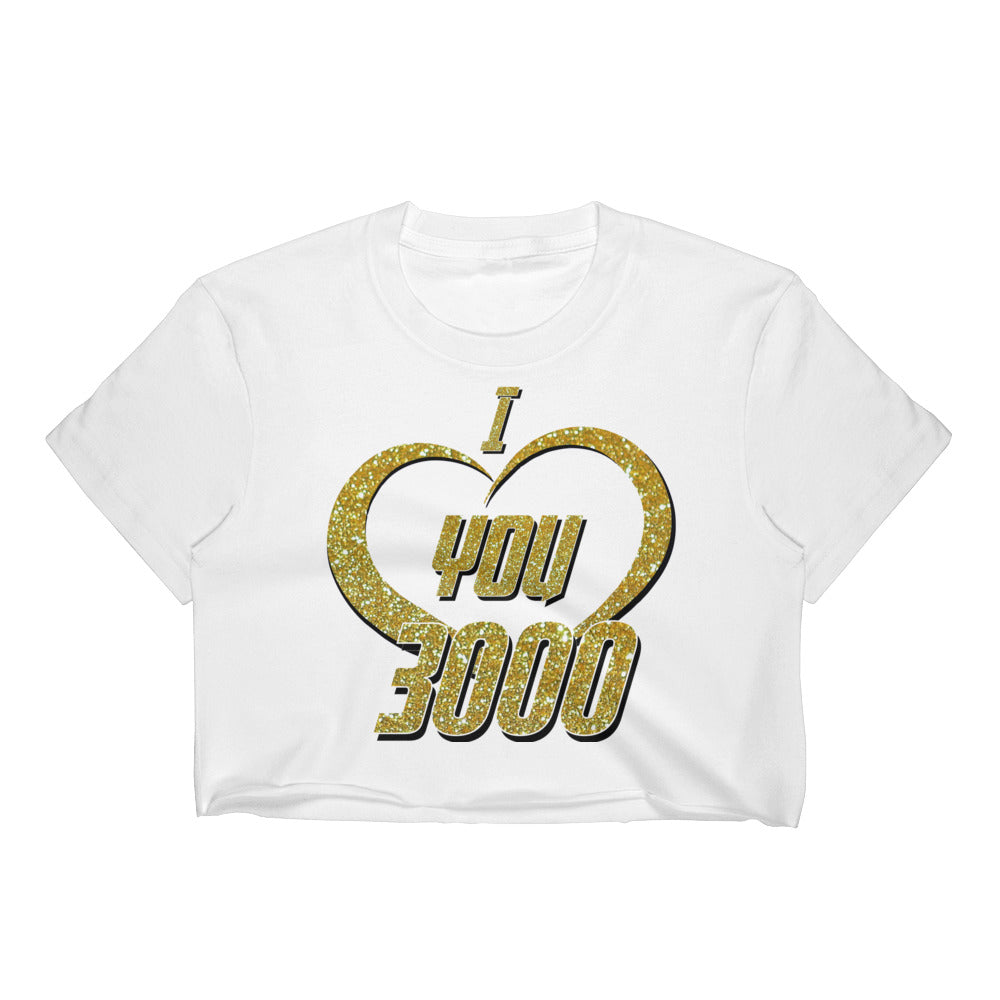 I Love You 3000 - Women's Crop Top