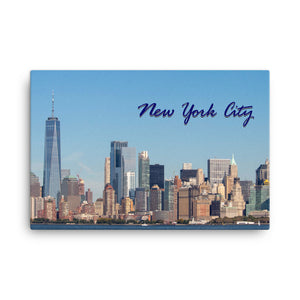 Original New York City Photo on Canvas 24x36