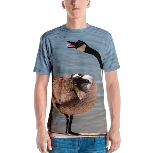 Yellin' Goose Life All-Over Print Men's T-shirt