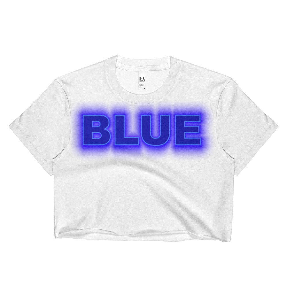 #inspiredbyBlue Ladies Crop Top