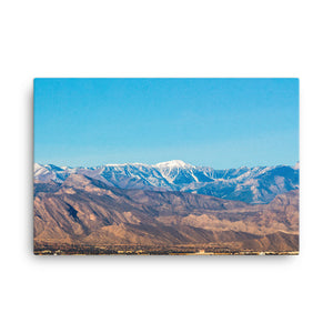 Colorful Mountain Majesties on Canvas - Original VIP Photography