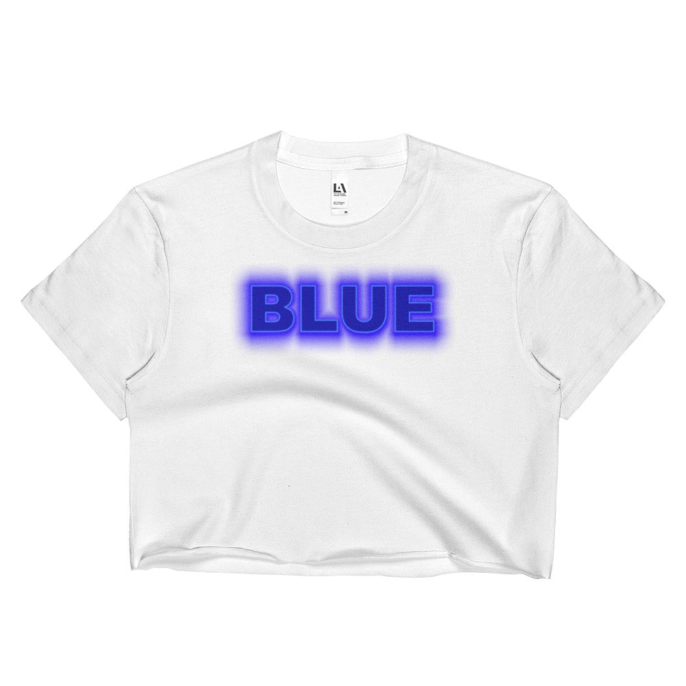 #inspiredbyBlue 2 Ladies Crop Top
