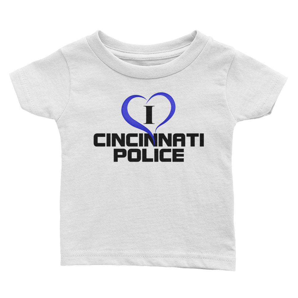 I Love Cincinnati Police Infant Tee