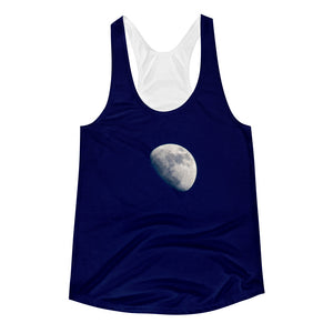 Going To The Moon Women's Racerback Tank