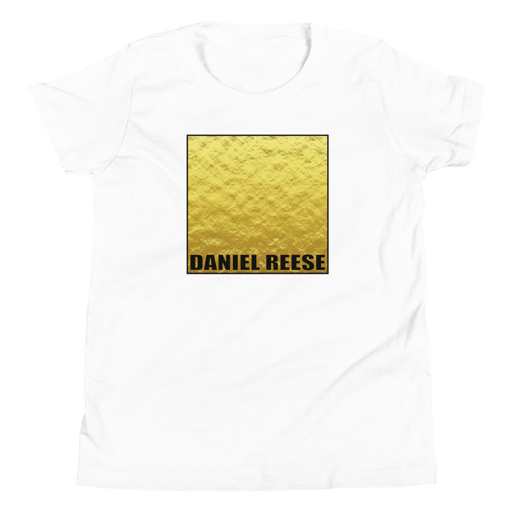 DTL Gold Skin Square - Youth Short Sleeve T-Shirt